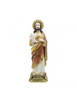 SAGRADO CORAÇÃO DE JESUS 40CM - ENFEITE RESINA