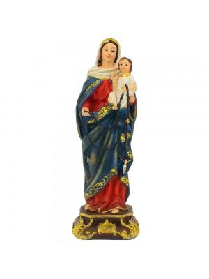 Nossa Senhora Do Rosário 20cm - Enfeite Resina