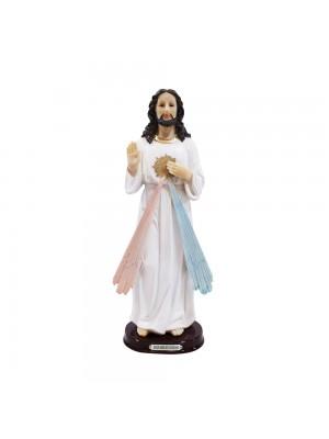 JESUS MISERICORDIOSO 30CM - ENFEITE RESINA