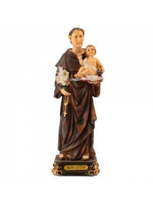 Santo Antônio 16cm Imagem Religiosa ALJB1020AB6M