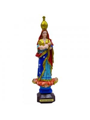 Nossa Senhora Da Abadia 30cm - Enfeite Resina