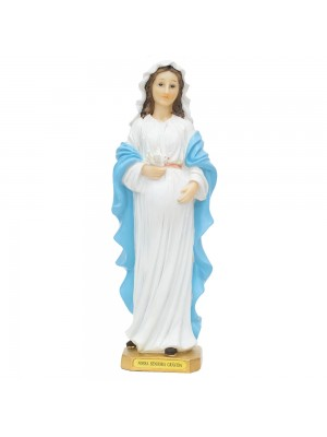 Nossa Senhora Grávida 31cm - Enfeite Resina