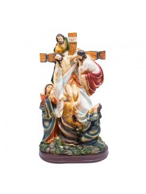 Descrucifixo De Jesus 32cm - Enfeite Resina