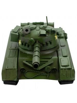 Tanque Verde 11.5x33x14cm Estilo Retrô - Vintage
