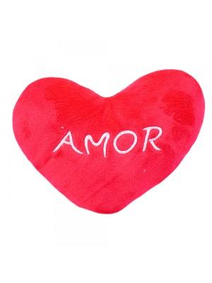 Almofada Coração Amor 12x15cm (Fibra)