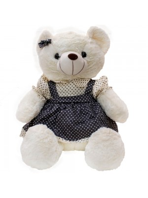 Urso De Saia Suspensório Estrelas 45cm - Pelúcia