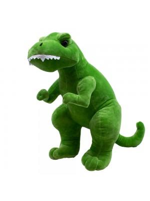 Dinossauro Tiranossauro Rex Verde 35cm - Pelúcia