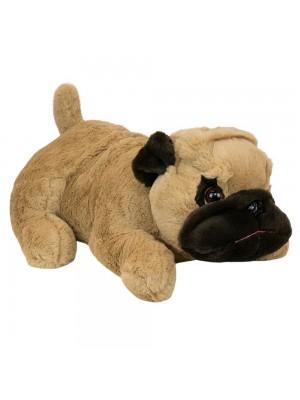 Cachorro Pug Deitado 43cm - Pelúcia