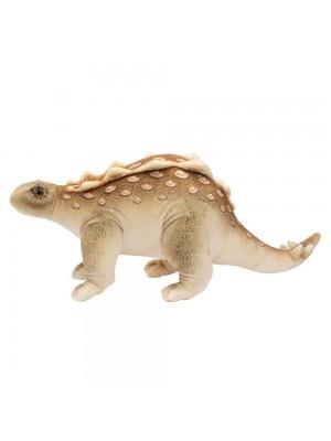 Dinossauro Marrom Estegossauro 45cm - Pelúcia