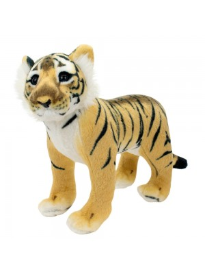 Tigre Realista 38cm - Pelúcia