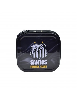 PORTA CD DE METAL PARA 24 CDS - SANTOS