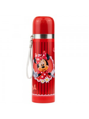 Garrafa Térmica Vermelha Minnie 500ml - Disney