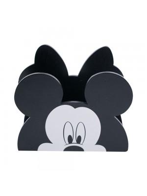 Porta Guardanapo Madeira Mickey & Minnie - Disney