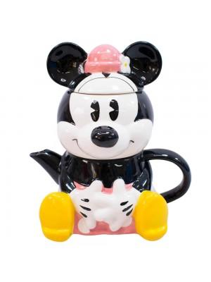 Bule 720ml Caneca 210ml Formato Minnie - Disney