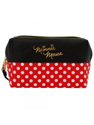Necessaire Retangular Assinatura Minnie 13x10x20cm - Disney