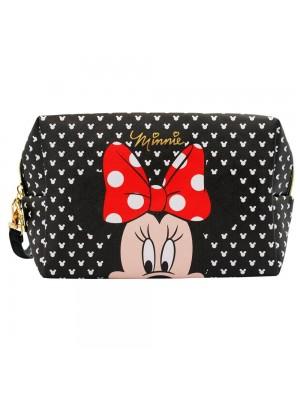 Necessaire Retangular Rosto Minnie 13x10x20cm - Disney