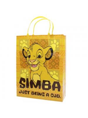 Sacola de Presentes Simba Rei Leão 33x26x8.5cm - Disney