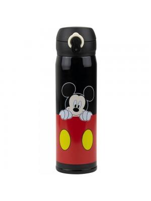 Garrafa Térmica Preta Mickey 400ml - Disney