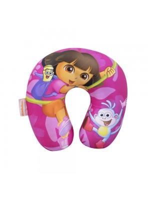 Pescoceira Dora Com Macaco (Isopor) (Grande) - Dora Aventureira