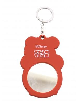 Chaveiro Emborrachado Espelho Mickey & Minnie Tsum Tsum - Disney