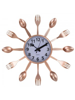 Relógio Parede Talheres 35x35cm
