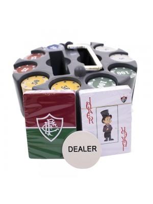 Jogo De Poker 200 Fichas E Baralhos - Fluminense