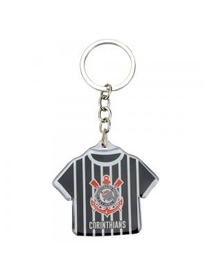 Chaveiro Camisa Futebol 5cm - Corinthians