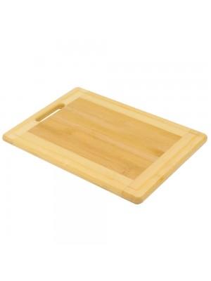 Tábua Bambu Para Corte 2x36x26cm