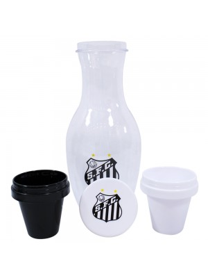 Jg Moringa 1.1L E 2 Copos 125ml De Plástico - Santos