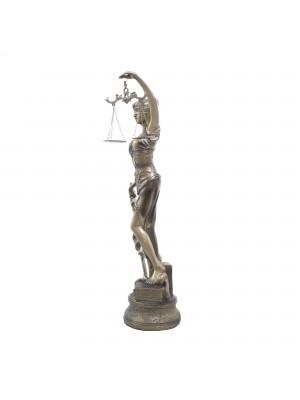 Dama Da Justiça 55cm - Enfeite Resina