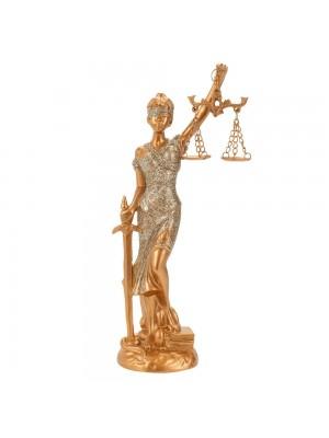 Dama Da Justiça 21.5cm - Enfeite Resina