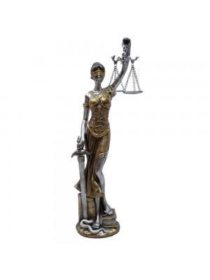 Dama Da Justiça 40cm - Enfeite Resina
