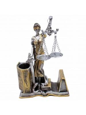 Dama Da Justiça 20.5cm - Enfeite Resina