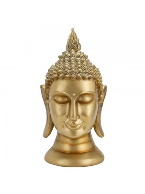 Busto Buda Dourado 25cm