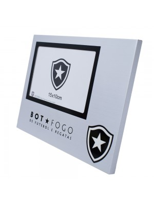 Porta Retrato Alumínio 1 Foto 10x15cm - Botafogo