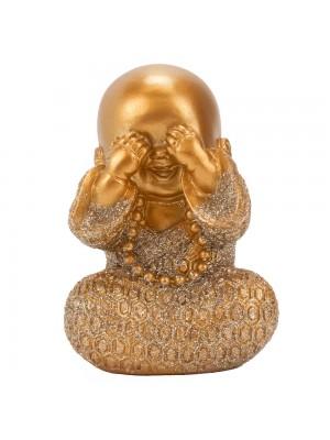 Monge Dourado Não Vejo 9cm