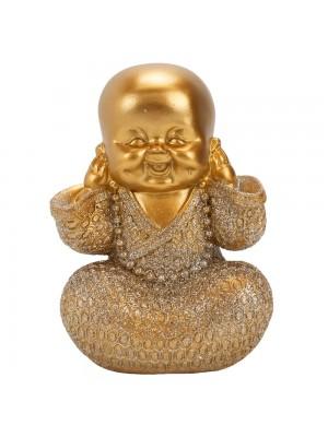 Monge Dourado Não Ouço 13cm