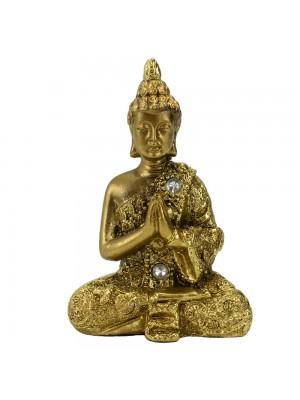 Buda Dourado Gassho 8.5cm