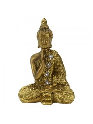 Buda Dourado Meditação 8.5cm