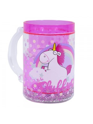 Caneca Congelante Rosa Únicórnio Its So Fluffy 250ml - Minions