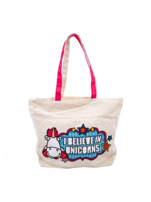 BOLSA UNICÓRNIO AGNES I BELIEVE IN UNICORNS - MINIONS