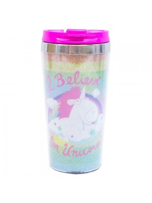 Copo Térmico I Believe in Unicorns 450ml - Minions