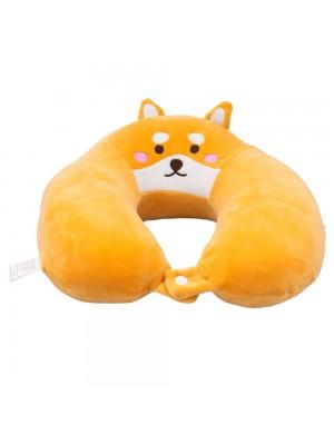 Pescoceira Laranja Cachorro Shiba 30x30cm