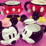 Canecas Mickey e Minnie Corpinho e Cabeça.