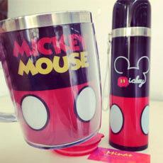 Caneca e Garrafa Mickey